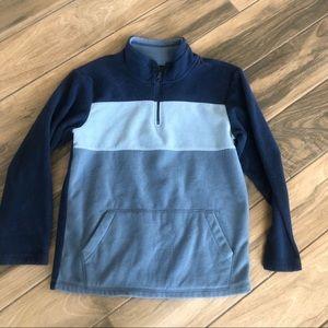 The Children's Place color block fleece pullover